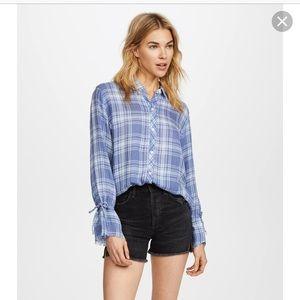 Rails Astrid Shirt in Cali Blues